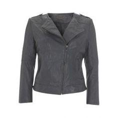 655ea7fa1b12 Leather jacket - Veste en cuir - Mint Velvet Manteau Femme, Vêtements  Femmes, Veste