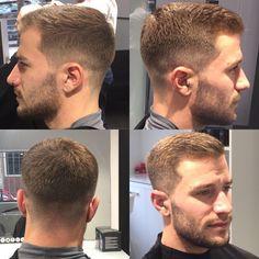 Wake Up and Smell the Barbicide : Photo - - Mens hairstyles short - Medium Hair Cuts, Short Hair Cuts, Short Hair Styles, Cool Haircuts, Haircuts For Men, Cut Photo, Crew Cuts, Hair And Beard Styles, Hairstyles Haircuts