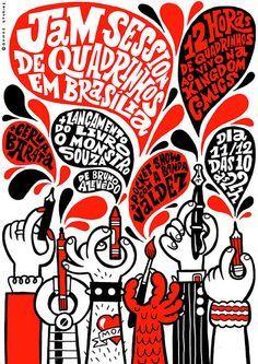 Jam Session de Quadrinhos em Brasília By Caio Gomez
