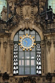 Detail Zwinger Palace, Dresden.Once again Dresden the most beautiful city in Germany..