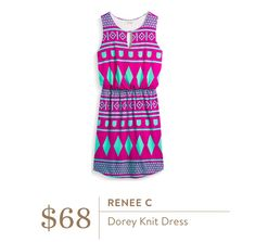 Stitch Fix July 2016 - Renee C Dorey Knit Dress $68