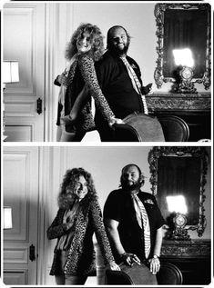 Robert Plant & Peter Grant X 2.