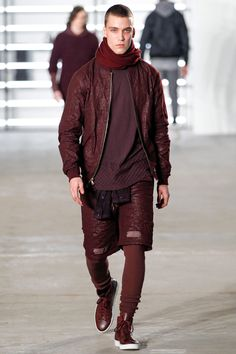 John Elliott presents its Fall/Winter 2016 Collection during New York Fashion Week: Men's.