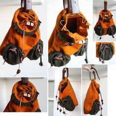 Medieval Hawking Bag by Archanejil.deviantart.com on @DeviantArt