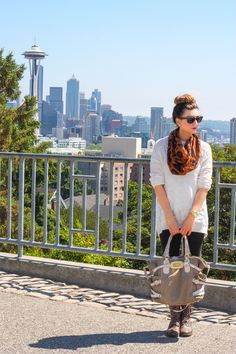Excuse My Blog- #seattle #scarves #zella #michaelkors #nordstrom #buns