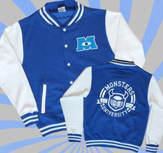 Monsters Inc 2 Varsity Jacket - I got mine this week and it is awesome :)