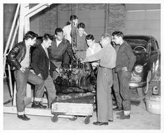1950s Greasers by Railroad Jack, via Flickr