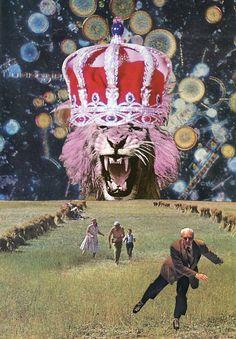 Villejavat. Lion is mad.