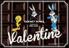 LOONEY TUNES × niko and ...のコラボ商品が登場! メリーチョコレートとのトリプルコラボのチョコレートも新発売