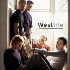 US album cover for Westlife's début album back in 2000.