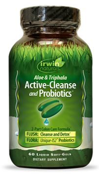 Active-Cleanse and Probiotics is a gentle yet effective formula that works through the digestive tract to promote toxin elimination and probiotic replenishment.* It can be used as part of a detox program or as a stand-alone product for deep internal cleansing.*