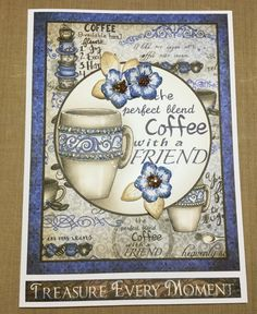 Heartfelt creations coffee talk collection