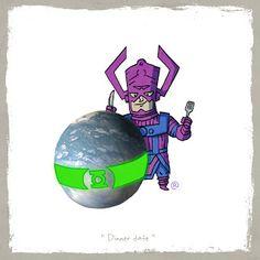 LITTLE FRIENDS - Galactus & Mogo