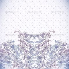 Vintage Background, Baroque Pattern   #GraphicRiver         Editable EPS and Render in JPG format                     Created: 26 November 13                    Graphics Files Included:   JPG Image #Vector EPS                   Layered:   No                   Minimum Adobe CS Version:   CS             Tags      abstract #backdrop #crown #damask #decor #decoration #decorative #element #floral #flower #frame #graphic #illustration #leaf #luxury #old #ornament #ornamental #pattern #retro…