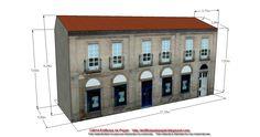 Edificios de Papel: Modelo 1449: Edificio Banco Avda. Pontevedra 2 - S...Entre diseño y diseño de nuestras maquetas de papel, a veces encontramos un hueco para ir revisando los modelos que vamos poniendo a vuestra disposición. Esta vez nos hemos detenido en el modelo 1411.