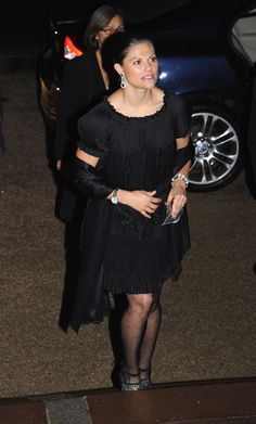 Princess Victoria Photos - Crown Princess Victoria of Sweden arrives at the Franco-Swedish Gala organised by Swedish Trade Council and Paris City Hall at Le Petit Palais on November 30, 2009 in Paris, France. - Swedish Trade Council Franco-Swedish Gala - Arrivals