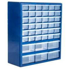 Akro-Mils 64-Compartment Small Parts Organizer Cabinet-10164 - The Home Depot