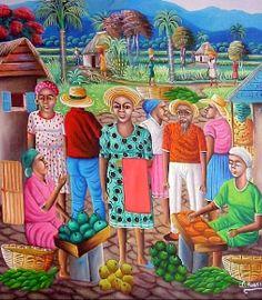 Dominican Folk art