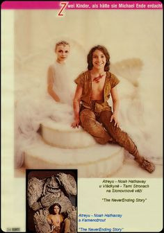 The Blissfully Happy Couple! ;) Neverending Story 3, Story Tattoo, 1980s Films, Bttf, Young Cute Boys, Fantasy Movies, Great Movies, Rainbows, Movie Tv