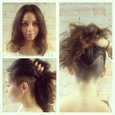 goshorter:  This beauty was desperate to get rid of some hair!!! We have her a…