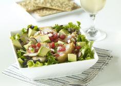 Bru's Wiffle Crispy Chicken Salad with California Avocados