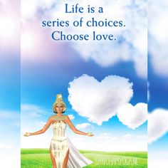 Life is a series of choices. Choose love. Love is the true nature of your soul. By making a choice from love instead of fear, you are saying yes to God/Universe. Don't let other people's opinions of you define who you are ♡ http://www.shivohamyoga.nl/ #oracle #quotes #tarot #love #yoga #wisdom #indigo #ShivohamYoga #namaste #om #instagood #me #esoteric #cute #like #photooftheday #followme #happy #beautiful #girl #picoftheday #instadaily #smile #friends #spirituality #vegan #esoteric…