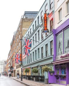 London's Soho has all the colors