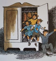 pauline baynes narnia illustrations | and brings them back home again after a wonderful adventure.