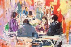 Turistas de Inverno | 2015   acrílico s/ tela | 100 x 150 cm Dagoberto Silva