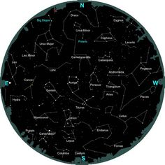 Information about constellations and how to identify them