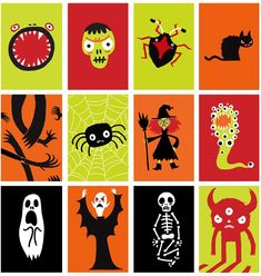 Marks and Spencers Halloween Design by Thomas Flintham