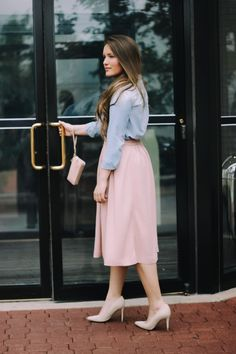 Denim And Blush – Courtney Toliver