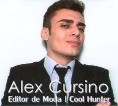 Alex Cursino, cool hunter e editor de moda