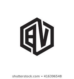 Immagini, foto stock e grafica vettoriale a tema Ac Logo Initials Logo, Monogram Logo, Hexagon Logo, Logo Sketches, Typographie Logo, Wedding Logo Design, Logo Desing, Photographer Logo, Photography Logo Design