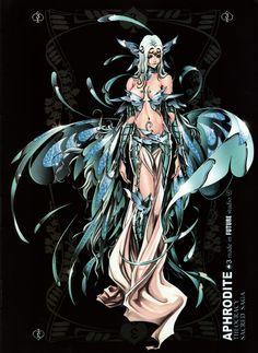 Females Saint Seiya Masami Kurumada Future Studio Saint Seiya Future Studio Aphrodite Goddess of Love