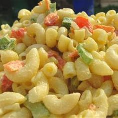 Classic Macaroni Salad Recipe, my first pasta salad love. Creamy Macaroni Salad, Classic Macaroni Salad, My Favorite Food, Favorite Recipes, Dessert, Soup And Salad, Pasta Salad, So Little Time, Pasta Dishes