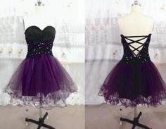 Cute Tulle Short Prom dress, #cutepromdresses, #promdresses, #shortpromdresses…