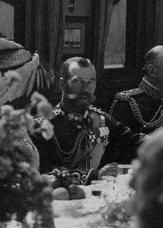 Nicholas II in British uniform and orders (1908)
