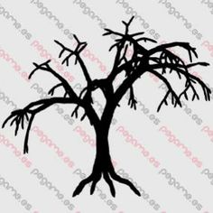 Pegame.es Online Decals Shop  #dead #tree #halloween #fear #zombie #nature #vinyl #sticker #pegatina #vinilo #stencil #decal