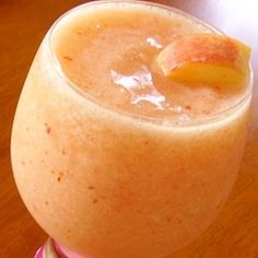 "Grandmother's Peach Fuzz | ""Yummy! This was so refreshing on a warm day! Just right for sitting on the deck!"""