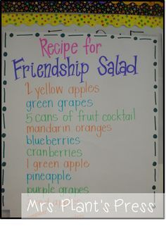 Friendship Salad - s