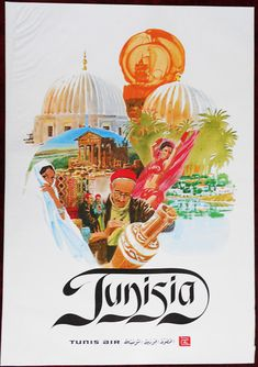 Tunisia - Tunis Air poster