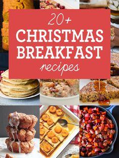 22 Christmas morning breakfast recipes