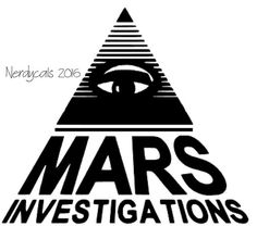 Veronica Mars TV Show Mars Investigations Logo by Nerdycals