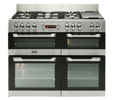Leisure CuisineMaster Dual Fuel range cooker Stainless Steel CS110F22X 110cm