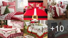 HACER CUBRE COLCHONES NAVIDEÑOS CON PATRONES Comforters, Projects To Try, Aqua, Gift Wrapping, Blanket, Pillows, Sewing, Bed, Gifts