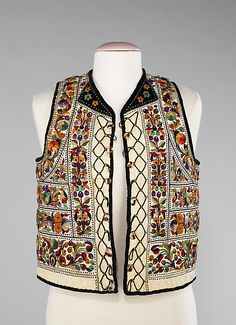 Date: fourth quarter 19th century Culture: Hungarian Medium: leather, wool, cotton