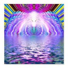 Psychedelic Sunrise  Funky Shower Curtain by  630776271