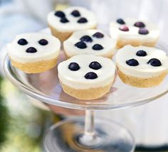 These neat, zesty cakes are finished off with a smooth, rich topping