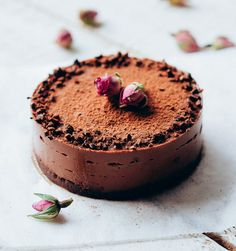 Tarta de chocolate ""